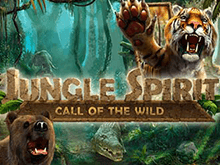 Играть онлайн в автомате Jungle Spirit: Call Of The Wild